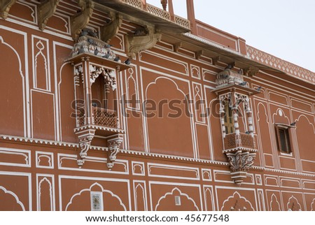 Traditional India Window Design Inside City Stock Photo Edit Now