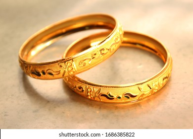 traditional Indian culture  gold bangles