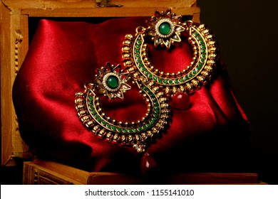 traditional Indian earrings