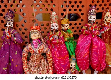 Traditional Indian puppets