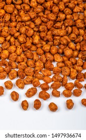 Traditional Indian snacks Peanut masala or Masala groundnut - crisp and tasty besan or chickpea flour coated spices masala groundnuts and deep-fried, served ideally as tea time snack