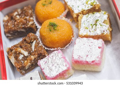 traditional Indian sweets box