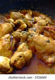 A traditional Indian/Bangladeshi Chicken Curry