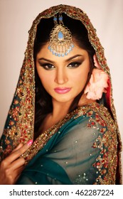 Traditional Indian/Pakistani bride