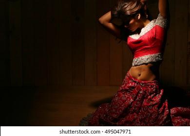 Traditional Indian/Pakistani bride