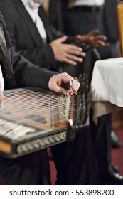 Traditional Instrument from Middle East and Asia called Qanun or Kanun