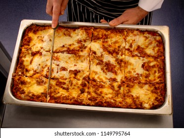 traditional Italian lasagne