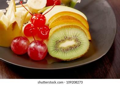 Traditional Japanese dessert fruit