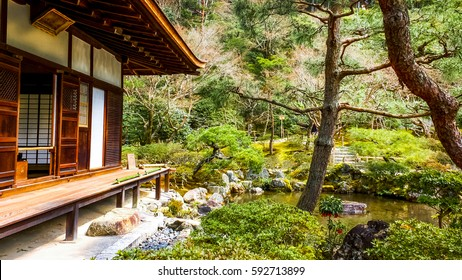 Traditional Japanese house.
