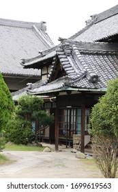 Traditionelles japanisches Haus in Nara, Japan