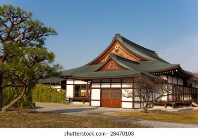 Traditional Japanese house in Nara, Japan