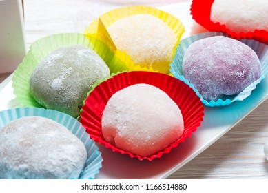 Traditional Japanese Mochi dessert