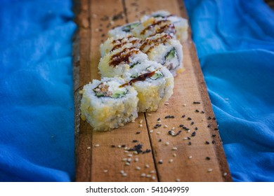 The traditional japanese Sushi