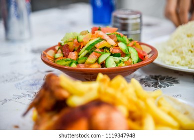 Traditional Jordanian Salad