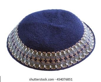 traditional  knitted  jewish male headwear kippa