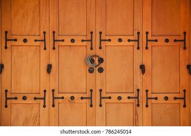 Traditional Korean door
