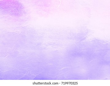 A traditional Korean paper with an purple gradient that is useful for Korean holidays.