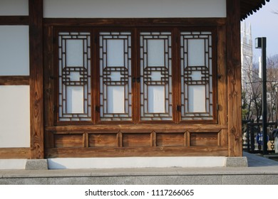 traditional Korean style house, tourist attraction