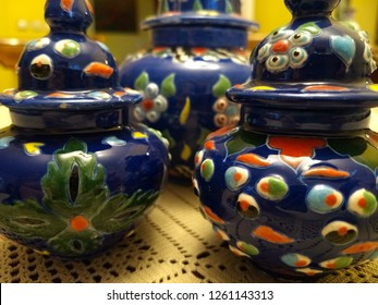 traditional kutahya tile art and traditional tile mastery small vases with lid