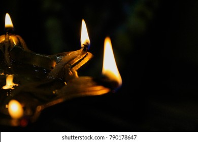 A traditional lamp that is used in inauguration of place/event. it is called 'Samai' in Marathi