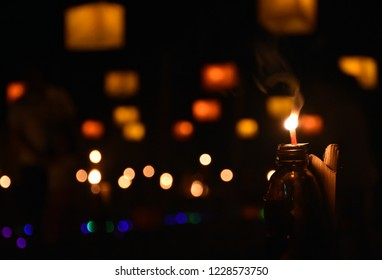 Traditional Lamps Festival at Gorontalo