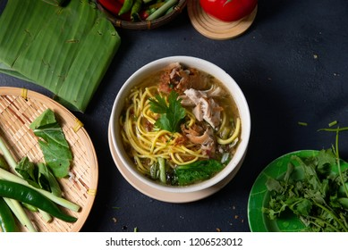 traditional malay soup noodle