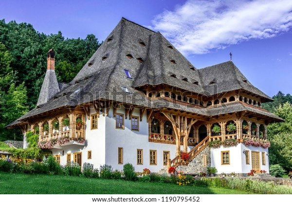 Traditional maramures monk house