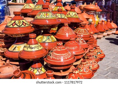 Traditional market in Meknes, Morocco