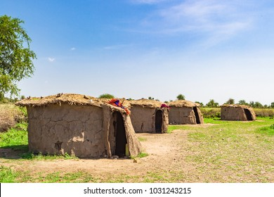 Traditional Masai village near Arusha, Tanzania