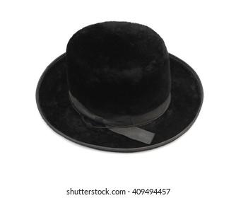 Traditional men jewish felt hat