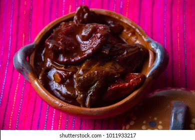 Traditional mexican chipotle peppers