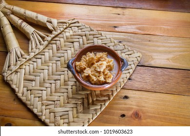 Traditional mexican chongos zamoranos