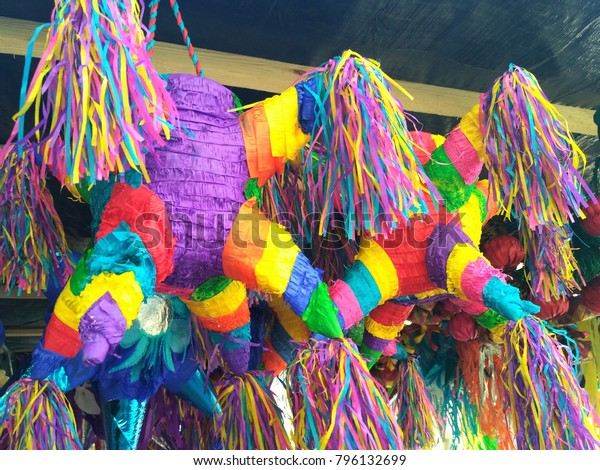 Traditional Mexican Colorful Christmas Decoration Known Stock Photo