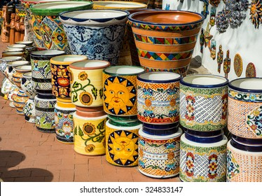Traditional Mexican folk art ceramics
