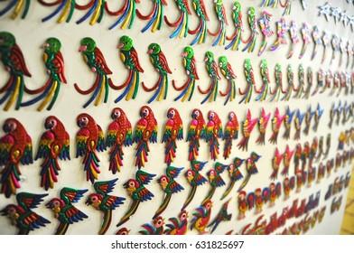 Traditional Mexican souvenir . Oaxaca Mexico