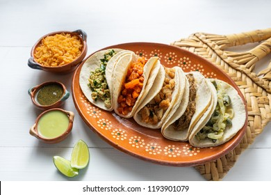"""Traditional mexican stew tacos """"guisados"""""""