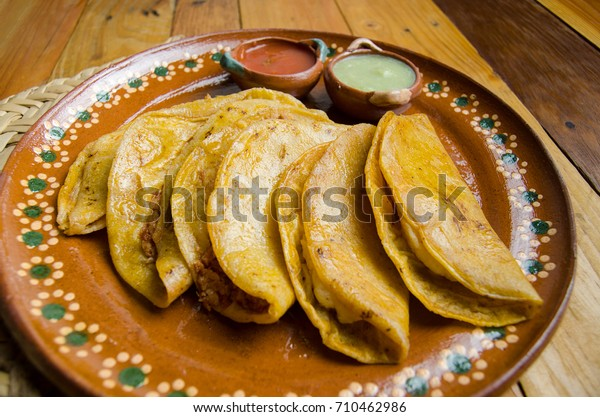 "Traditional Mexican ""tacos sudados"""
