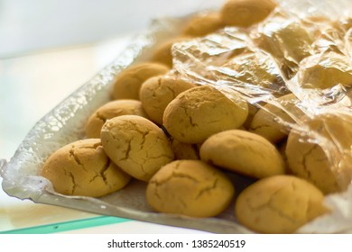 Traditional moroccan (arabic) pastry cookies. For festive days like Eid el-Iftar.
