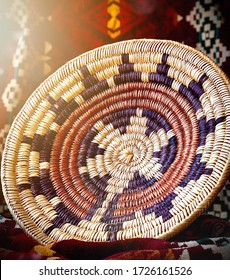 Traditional Navajo basket used in Weddings or to hold important belongings