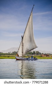 Traditional Nile boat