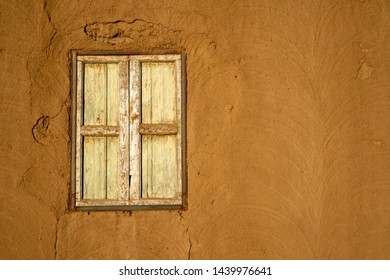 Traditional Nubian house made of mud in Abri, Sudan