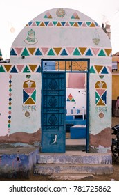 Traditional Nubian village