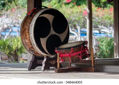 Traditional Okinawan Taiko Drums