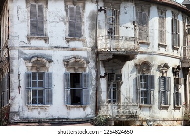 Traditional old building detail in Hatay (Antakya), Turkey. Antakya is one of the most important tourism destinations in Turkey.