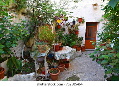 Traditional old house in Chania Crete, Greece