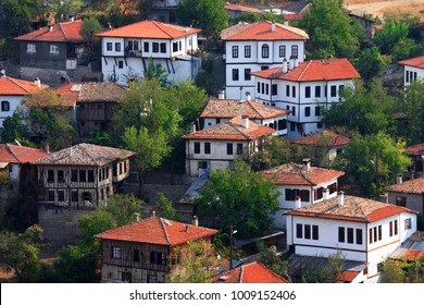 traditional old houses texture of safranbolu turkey in nature