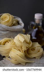 traditional organic Italian white pasta