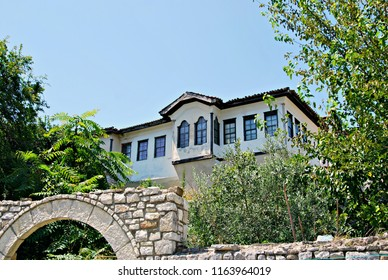 Traditional ottoman house in the old city of Berat