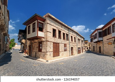 Traditional ottoman houses in Taurus, birth place of Paul the Apostle, Turkey