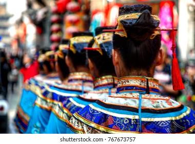 Traditional Parade Pingyao